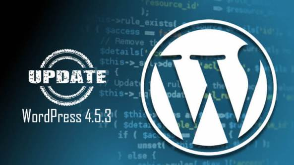 WordPress 4.5.3 – A Security Release is Out Now!
