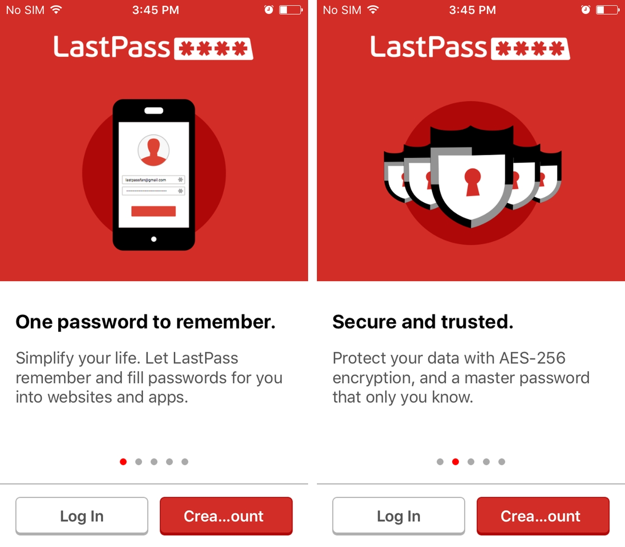 LastPass To Track Multiple Passwords