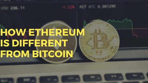 How Ethereum IS Different From BitCoin?