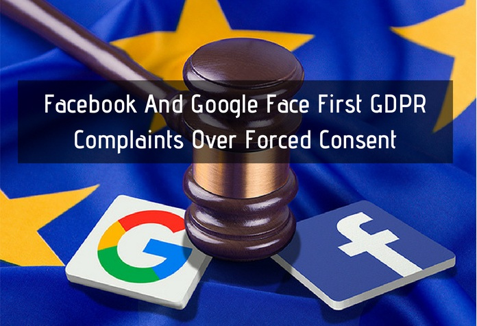 Google And Facebook Hit With £6.7bn In GDPR Lawsuits On Day One