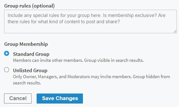 Group Rules & Membership