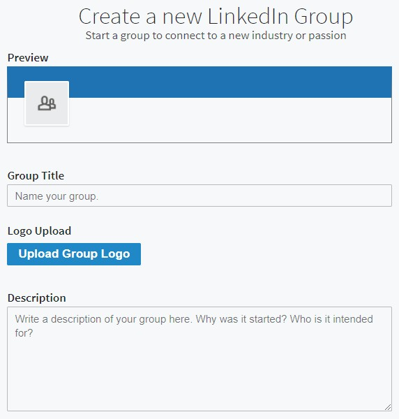 New LinkedIn Group