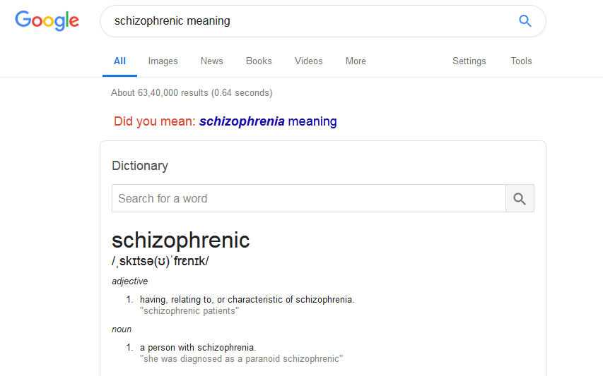 meaning search